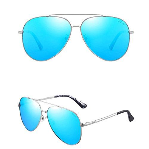 Driving Driver 2 DT Nuevo de Color Sol Estilo Gafas Gafas 5 Polarizing Mirror Sol Masculinas de 7q764xwP