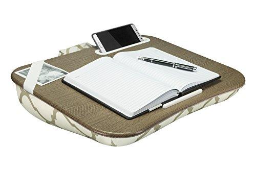 LapGear Designer Lap Desk - Beige Quatrefoil (Fits up to 17.3