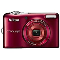 Nikon digital camera COOLPIX L32 (Red) L32-RD
