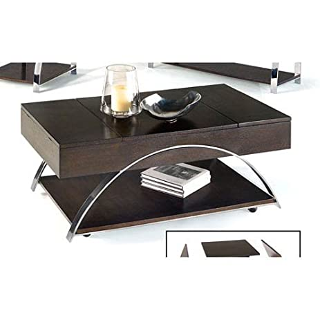 Exceptional Progressive Furniture P428 15 Castered Lift Top Cocktail Table Showplace,  48 X 26