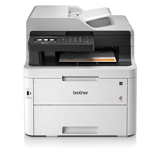 Brother Impresora Laser|Couleur |silencieuse |Connexion Ethernet |wi-fi Blanco 3700