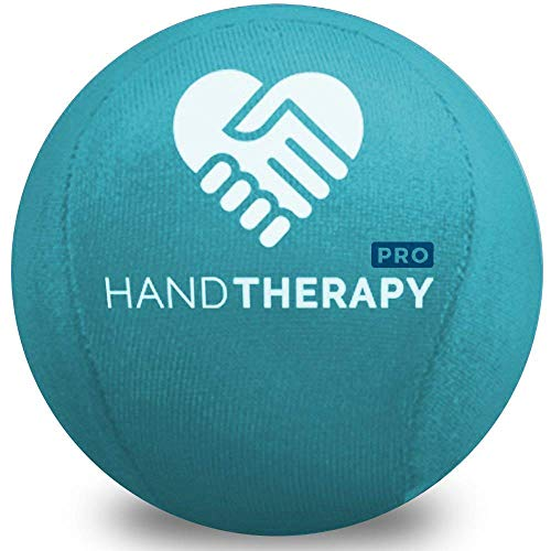 Stress Ball Hand Therapy Gel Squeeze Ball for Hand Stress and Therapeutic Relief, Grip Strength, Hand Mobility and Restoration (Teal)