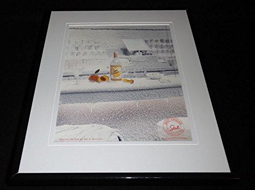 2005 Stolichnaya Peach Vodka Framed 11x14 ORIGINAL Advertisement Stoli