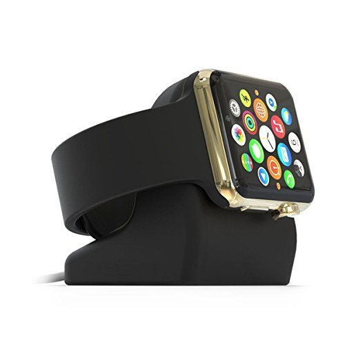 UPC 714491702595, Apple Watch Stand,Kartice®Apple Watch Holder Silicone Charging Docking Station Mount Cradle for Apple Watch iWatch 38mm & 42mm All Version--Black