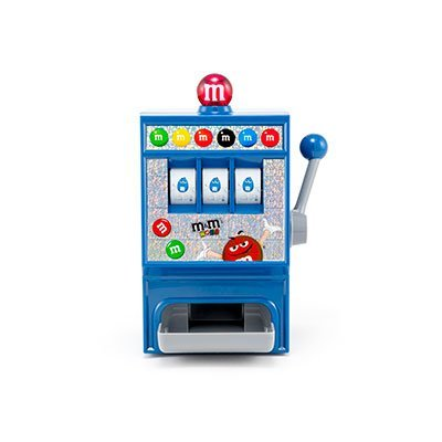 M&M Electronic Slot Machine Candy Dispenser Black, used for sale  Delivered anywhere in USA