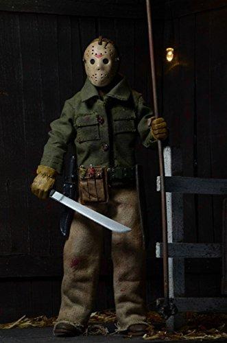 NECA Friday the 13th Part 6 VI Jason Lives - Clothed 8″ Action Figure - Jason