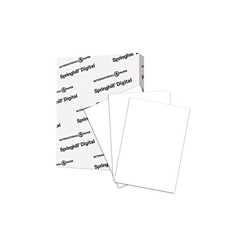 Springhill Cardstock Paper, White Paper,