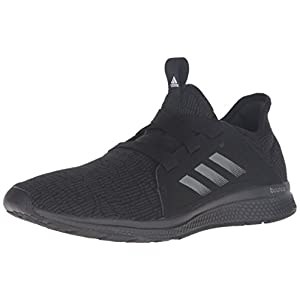 adidas Performance Women's Edge Lux W Running Shoe, Black/White/Dgh Solid Grey, 9.5 M US