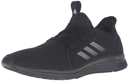 adidas Women's Edge Lux w Running Shoe, Black/White/DGH Solid Grey, 7.5 M US by adidas