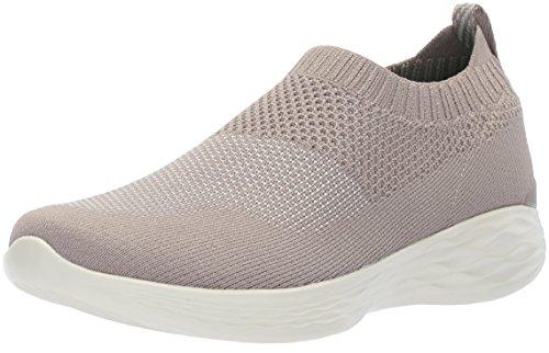 Skechers Women's You-14968 Sneaker Taupe buy for sale Fl0iBxr7