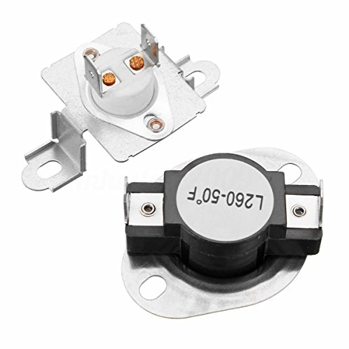 DC47-00018A & DC96-00887A Replacement Fits Samsung Dryer Thermal Fuse (Thermal Fuse Assembly)