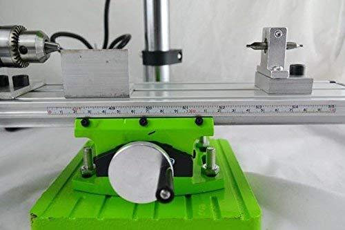 Hengwei AC 220V 480W Mini Lathe Machine DIY Wood Lathe Mini Bench Drill for Wood Plastic by Hengwei (Image #6)