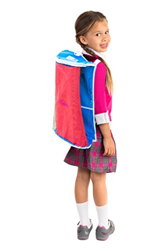 Nap Mat Bag (Red)for Preschool and Daycare Nap Mats