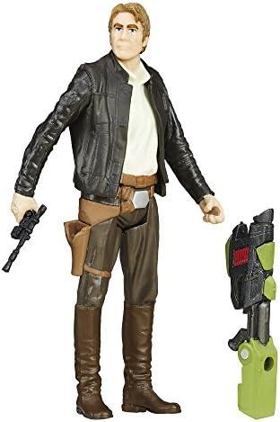 Disney Star Wars The Force Awakens Han Solo Action Figure Han Solo Hasbro BNIB