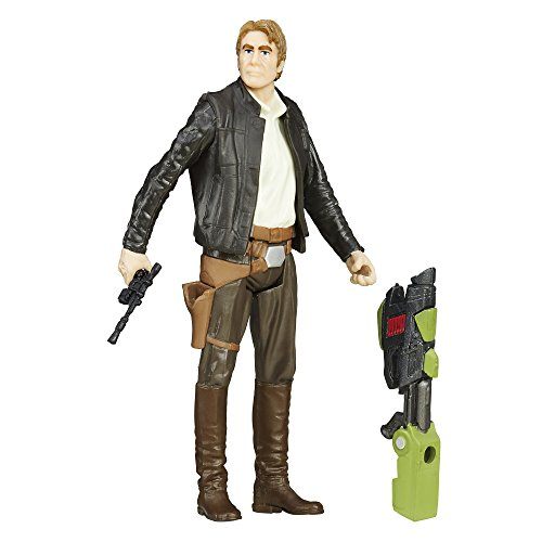 Star Wars: The Force Awakens Jungle Mission Han Solo