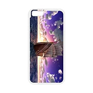 Sailboat CHA8027310 Phone Back Case Customized Art Print Design Hard Shell Protection IPhone 6 Plus