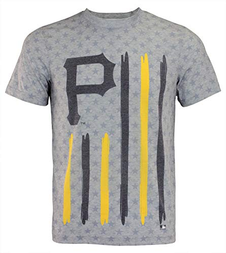 Klew Flag T-Shirt Team Color Pittsburgh Pirates ()