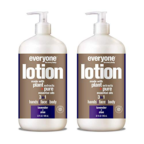 Everyone Lotion, Lavender and Aloe, 32 Fl. Oz (Pack of 2)
