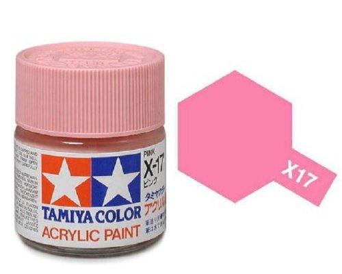 Amazon Tamiya Models X 17 Mini Acrylic Paint Pink Toys Games