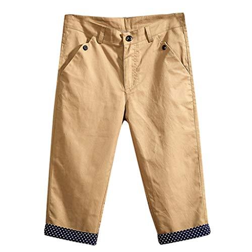 c14ce343d767 Summer Casual Men Shorts, Men's Summer Fashion New Casual Pure Color  Calf-Length Beach