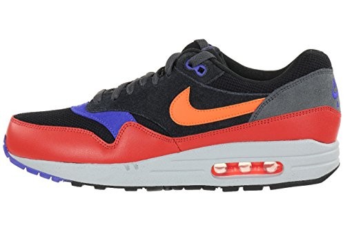 Nike Air Max 1 Essential - Zapatos para correr Unisex adulto Black Red