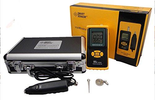 (Digital Precision Vibration Meter Tester Gauge Vibration Data Logger Vibration Analyzer AR63B with Vibrometer Meter Tester Gauge Vibrating Gauge)