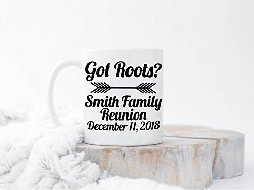 Custom Family Reunion Favors, Family Party, Reunion Mugs, Favors for Family Reunions, Family Reunion Mugs, Family Reunion Cup, Reunion Gift,11 oz ()