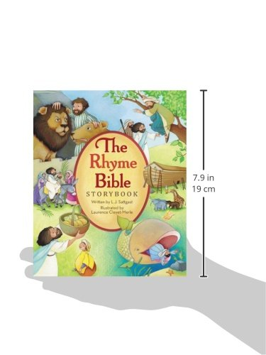 The Rhyme Bible Storybook by HarperCollins Christian Pub. (Image #5)