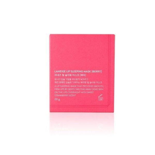 Laneige Lip Sleeping Mask 0.71oz (Berry 20g)