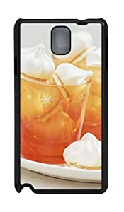 Samsung Galaxy Note 3 N9000 Cases & Covers -Two Cups Of Delicious Desserts Custom PC Hard Case Cover for Samsung Galaxy Note 3 N9000¨CBlack