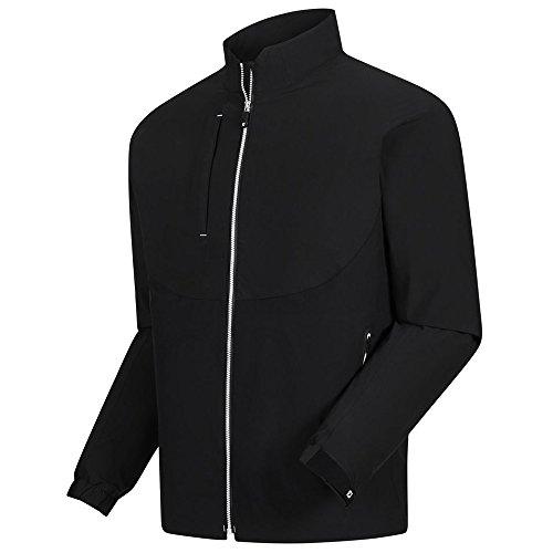 FootJoy New DryJoys Tour LTS RAIN Golf Jacket Black/White XX-Large