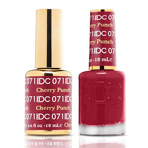 DND DC Duo Gel + Polish - 071 Cherry Punch