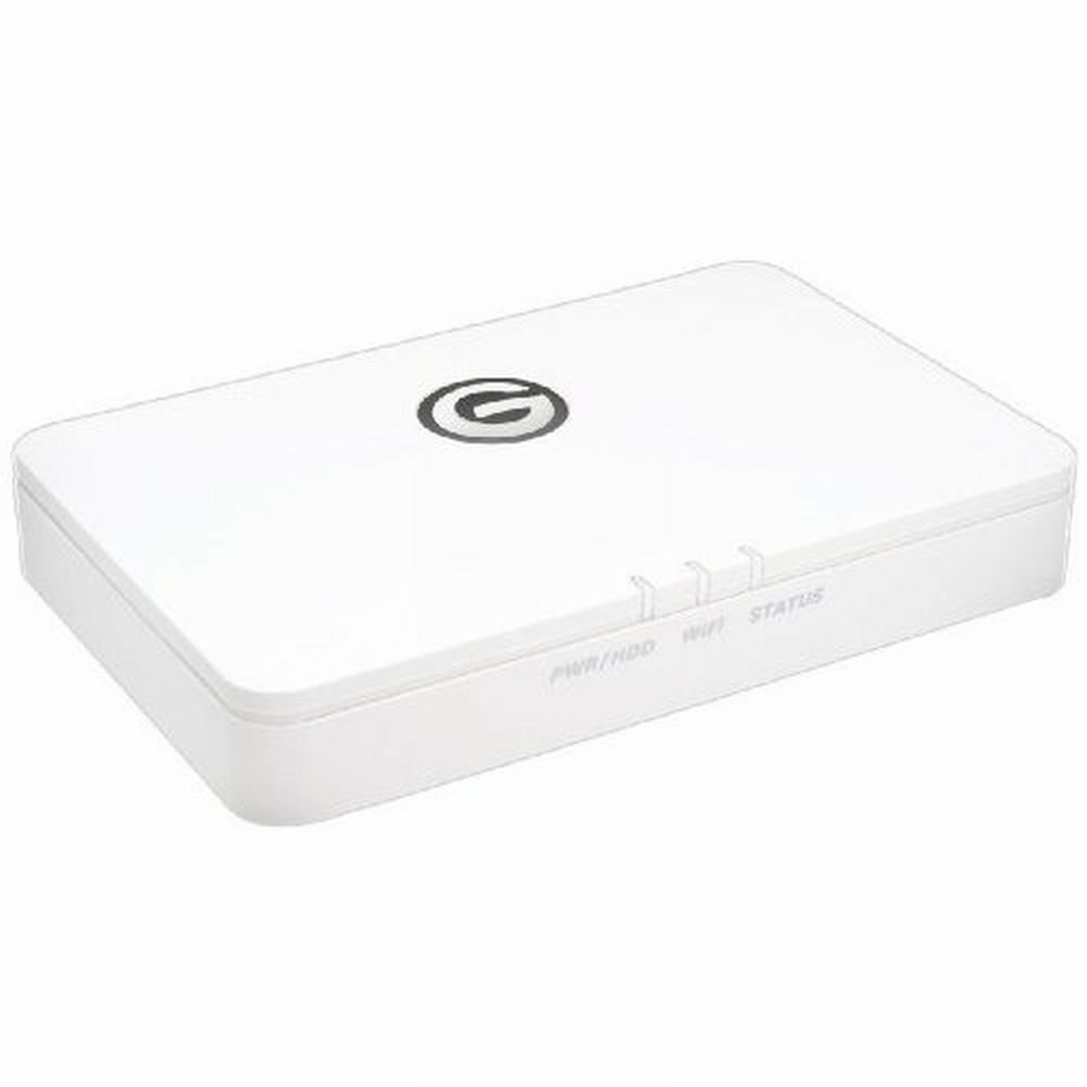 G-Technology G-CONNECT 500 GB GigE USB 2.0 Wireless Storage for iPad (0G02148)