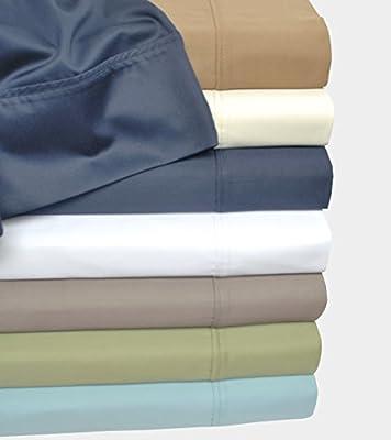 500 Thread Count 100% Cotton, Single Ply, 2-Piece Pillowcase Set