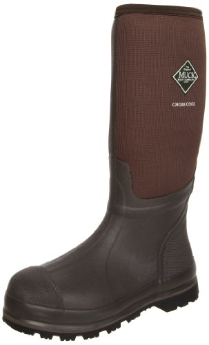 [MuckBoots Chore Cool High Waterproof Work Boot,Brown,9 M US Mens] (Brown Waterproof Boot)
