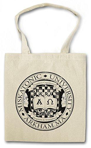 Cthulhu Urban Universidad Vintage de la Reutilizables Arkham Bolsas Miskatonic Backwoods Call I University Sign Lovecraft Compra HP wqxvZCwgr