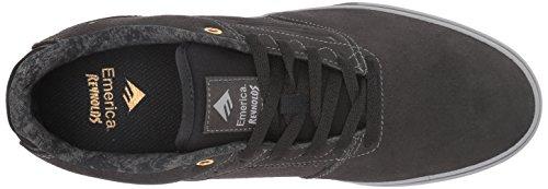 Emerica Reynolds Lage Vulc Skate Schoen Donkergrijs / Grijs