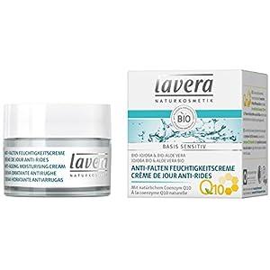 lavera Crème de Jour Anti-Rides à la Coenzyme Q10 – Vegan – Cosmétiques naturels – Ingrédients végétaux bio – 100…