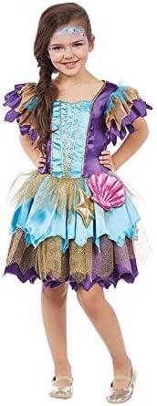 Alana Disfraz Para Niños Chica Ninfa Sirena Mermaid: Amazon.es ...