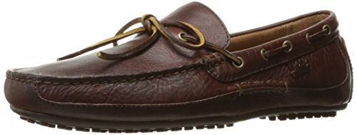(Polo Ralph Lauren Men's Wyndings Driving Style Loafer, Deep Saddle Tan, 13 D US)
