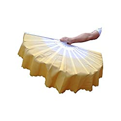 History In ancient Japan, hand fans, such as oval and silk fans were influenced greatly by the Chinese fans. The folding fan was invented in Japan, with date ranging from the 6th to 9th centuries. High Quality Made of durable bamboo and silk which i...