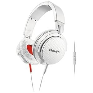 Philips SHL3105WT DJ On-Ear Headphones Universal Headset Function Foldable - White