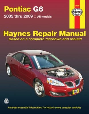 Haynes Repair Manual for Pontiac G6 2005 thru 2009 (79025 ...