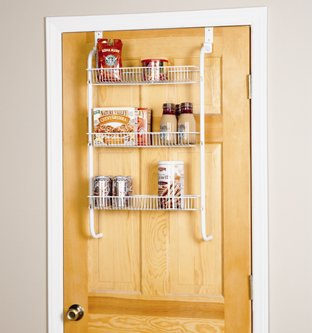 Peachy Over The Door 3 Tier Storage Rack 1222 Amazon Co Uk Interior Design Ideas Gresisoteloinfo