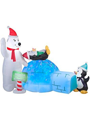 GEMMY INDUSTRIES 89898 Air blown (Bear Wreath Hanger)