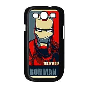 Samsung Galaxy S3 9300 Cell Phone Case Black iron Man LV7029619