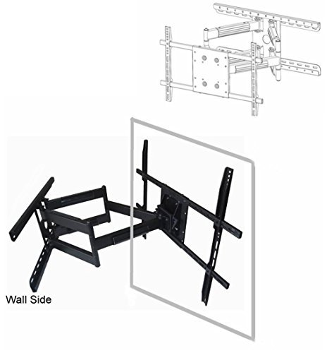 "Price comparison product image Universal UAW-600 Long 32"" extension Articulating Wall Mount to 90"" (16"" or 24"" stud) for LED TV,  LCD TV,  Plasma TV"