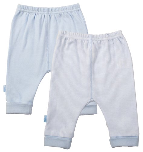 Kushies Everyday Layette 2 Pack Cuffed Pant