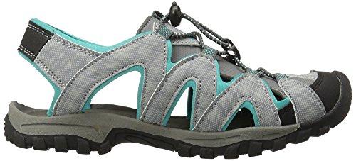 Women's Northside Corona Grey Light Aqua Sandal BPgzq