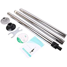 Chrome Dance Pole Full Kit Portable Stripper 50mm Exercise Fitness Club Party